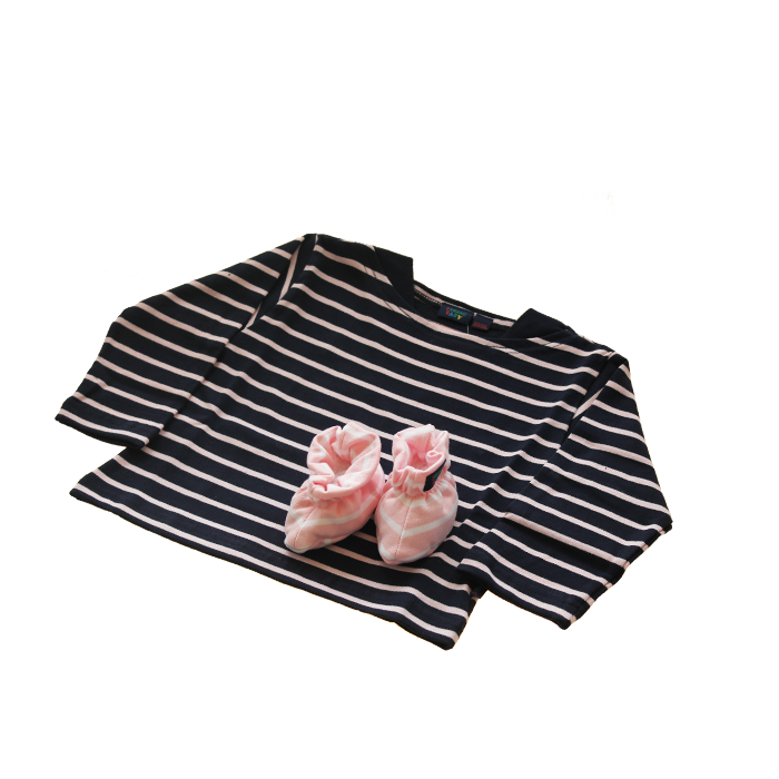 Babykleding Roze.Babykleding Cadeau Set 2 Delig Marine Roze Goedkoop Kraamcadeau