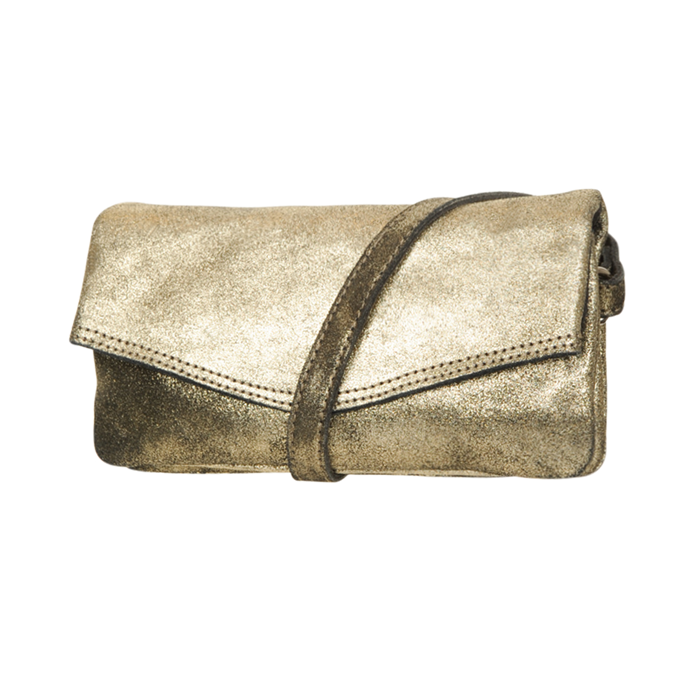 de1250b4088 Clutch SOHO New York Linn Gold Echt Leder goedkoop