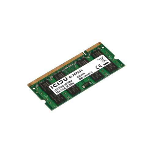 Notebook 2GB DDR2 667MHz Geheugen ICIDU