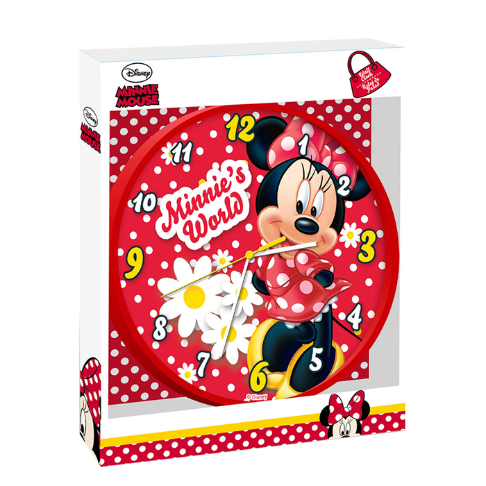 Wandklok Disney Minnie Mouse 25 cm