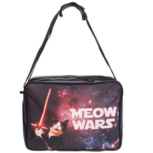 Messenger Bag Meow Wars