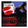 Knipperende Spaakreflector 2x LED Bicycle Gear