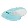 Pantoffel Heart Turquoise