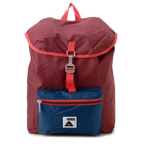 Poler Fieldpack 14L Rugzak Sweet Berry Wine Steel Blue Cayenne