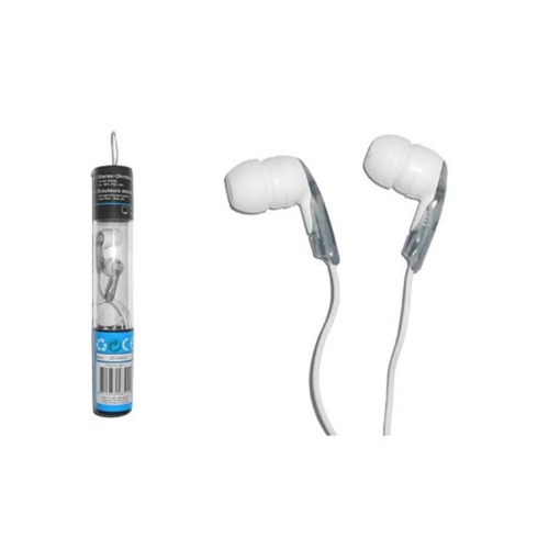 In Ear Stereo Oortelefoons 3.5mm Grijs