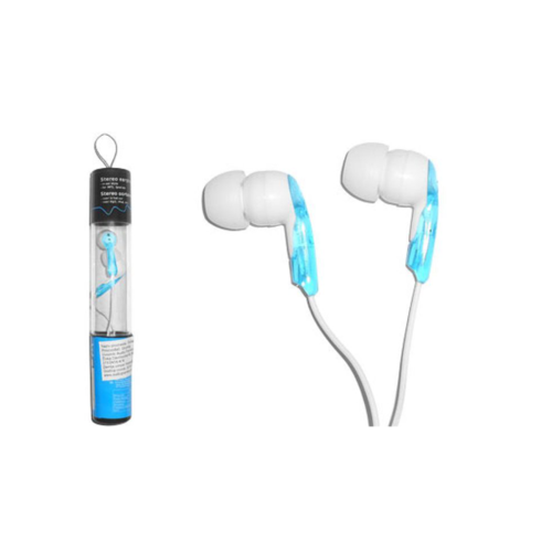 In Ear Stereo Oortelefoons 3.5mm Blauw