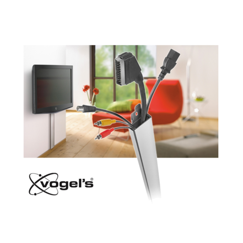 Vogel's XCW-100 Kabelgoot 1m Hide-A-Wire Zilver